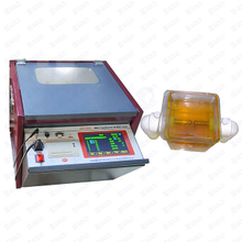 GDYJ-502A IEC156 Automático 80kV Transformer Oil Breakdown Voltage BDV Tester